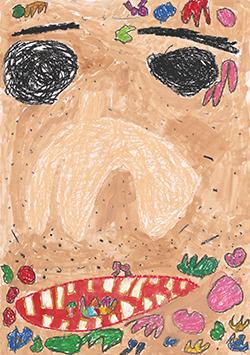銀賞「おとうさんのすきなクッキーをやいたよ」弘山 真菜(3)埼玉県